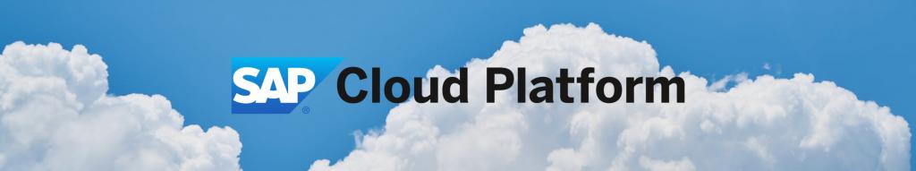 SAP Cloud Platform Banner Image