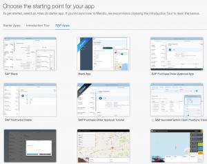 SAP Cloud Platform Rapid App Development - Services