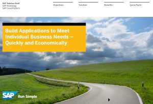 SAP Cloud Platform Solution Brief - Download